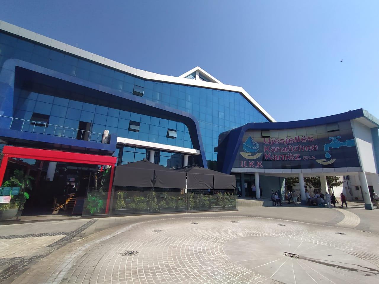 Pallati i Kulturës në Kamëz, qershor 2020. Foto: Diana Malaj.